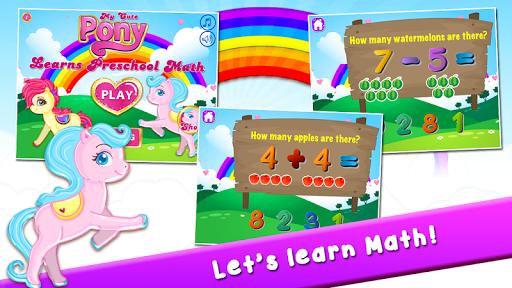 Pony Learns Preschool Math 3.32 screenshots 1