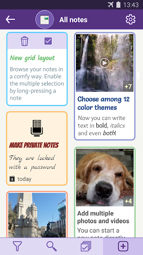 Notes with pictures - easy notepad with images apktram screenshots 2