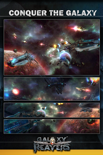 Galaxy Reavers - Starships RTS apkmr screenshots 1