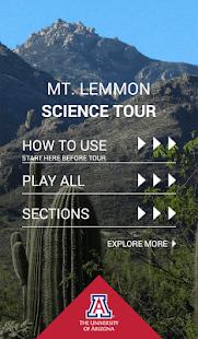 Mt. Lemmon Science Tour