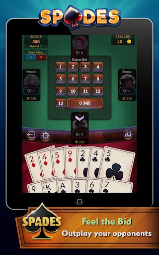 Spades - Offline Free Card Games android2mod screenshots 18