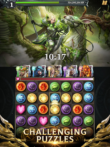 Legendary: Game of Heroes - Fantasy Puzzle RPG screenshots 2