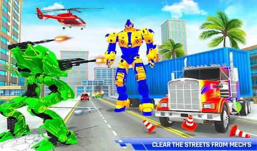 Police Truck Transform Robot 51 Screenshots 5