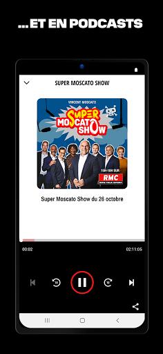 RMC ud83cudf99ufe0fInfo et Foot en direct - Radio & Podcast  Screenshots 5