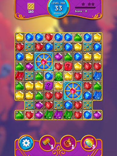 Jewel Witch - Best Funny Three Match Puzzle Game 1.8.2 screenshots 10