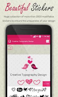 Creative Typography Design 3.9 Screenshots 3