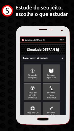 Simulado DETRAN RJ apktram screenshots 2