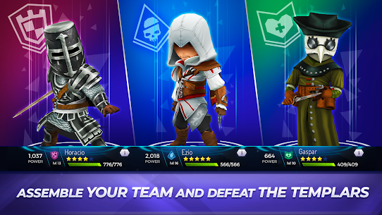 Assassin's Creed Rebellion Apk Mod , Assassin's Creed Rebellion OBB Unlimited Everything 2