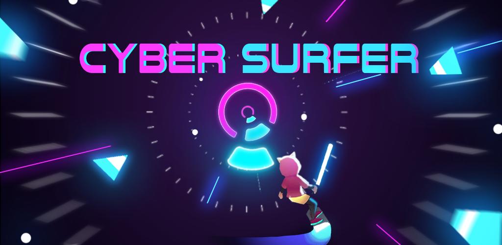 Cyber Surfer: EDM & Skateboard & Coloring Game  poster 0