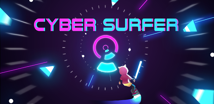 Cyber Surfer: EDM & Skateboard & Coloring Game
