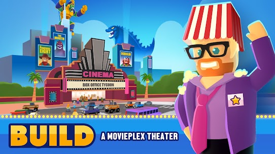 Box Office Tycoon – Idle Movie Tycoon Game MOD APK 2.0.1 (Ads Free) 8