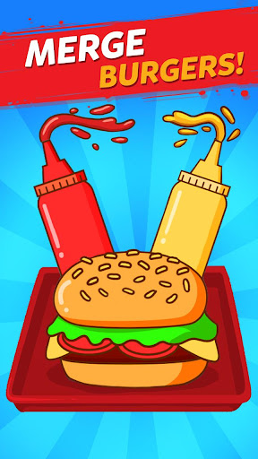 Merge Burger: Food Evolution Cooking Merger screenshots 1