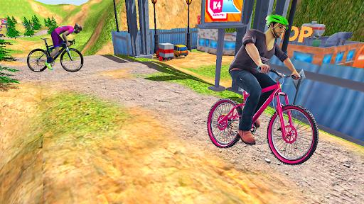 BMX 2 Cycle Game 3d- Mega Ramp Racing Games 2021  screenshots 4