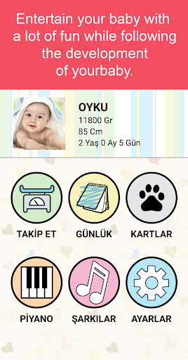 Baby weight control  Screenshots 1