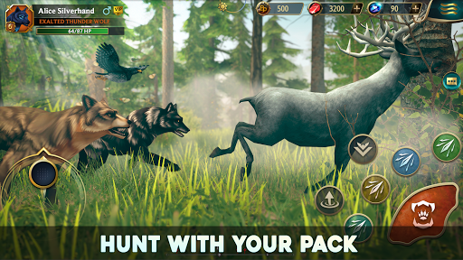 Wolf Tales - Online Wild Animal Sim 200198 screenshots 8