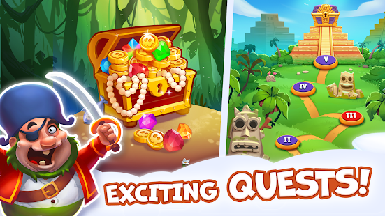 Pirate Treasures - Gems Puzzle 2.0.0.101 Screenshots 18