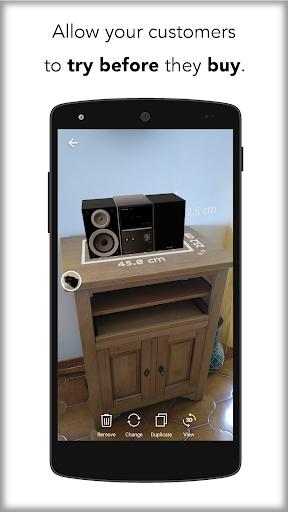 Augment - 3D Augmented Reality 4.0.8-beta+30650 Screenshots 4
