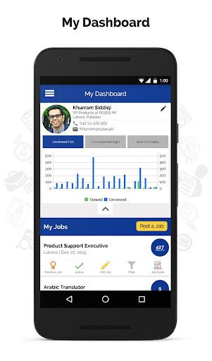 rozee.pk - employer app screenshot 3