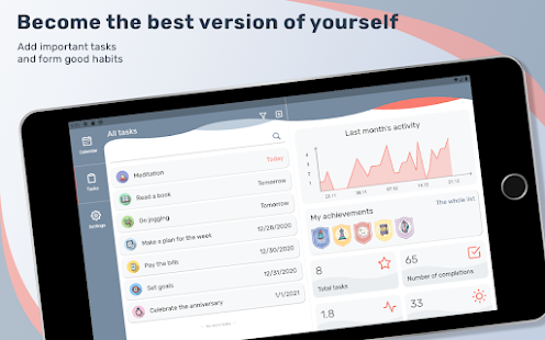 Tusk: flexible task and habit manager