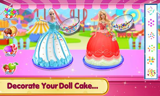Doll Ice Cream Cake Baking 2019: World Food Maker apktram screenshots 15