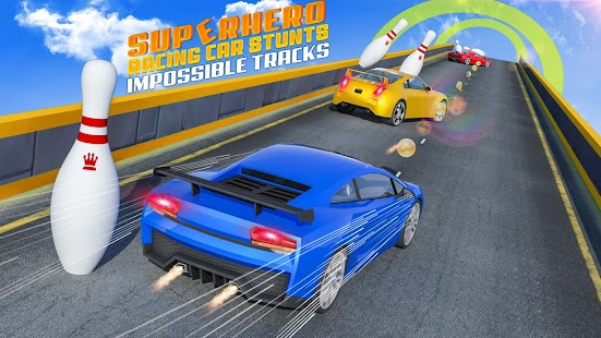 Superhero Car Games GT Racing Stunts - Game 2021 Screenshot