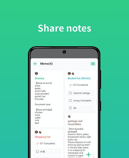 TimeTree - Free Shared Calendar apktram screenshots 4