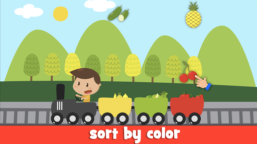 Learn fruits and vegetables - games for kids 1.5.4 screenshots 2
