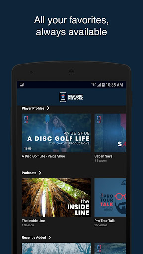Disc Golf Network  screenshots 3