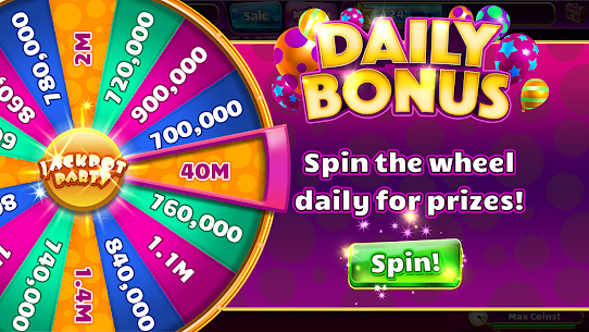 Jackpot Party Casino Games MOD APK (Unlimited Money) 8