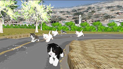 Kitten Cat Craft Racing:Cute Cat World Tournament apkdebit screenshots 2