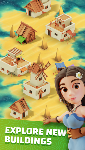 Idle Islands Empire: Idle Clicker Building Tycoon screenshots 1