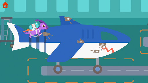Dinosaur Airport - Flight simulator Games for kids  screenshots 4