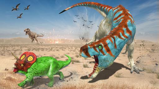 Real Dinosaur Simulator Games u2013 Dino Attack 3D 3.1 screenshots 5
