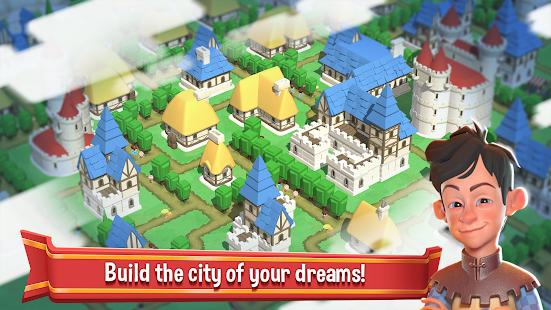 Crafty Town - Merge City Kingdom Builder Unlimited Money