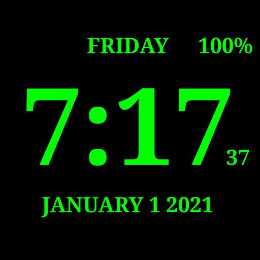 Digital Clock Live Wallpaper 7 التطبيقات على Google Play