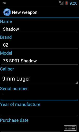 shooter's log screenshot 3