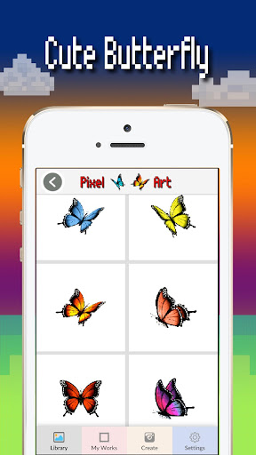 Butterfly color by number : Bugs coloring book 1.4 screenshots 2
