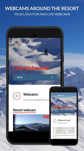 reith im alpbachtal snow, cams, pistes, conditions screenshot 2