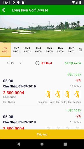 fastee : golf tee time booking screenshot 3