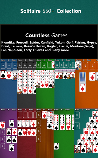 550+ Card Games Solitaire Pack 1.20 screenshots 2