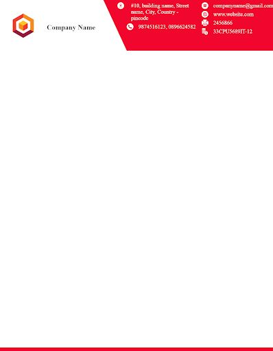 Letterhead Maker Business letter pad template Logo 1.7 Screenshots 6