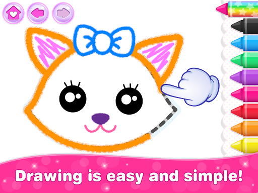 Kids Drawing Games for Girls! Apps for Toddlers!  screenshots 22