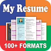 Resume Builder App Free CV Maker & PDF Templates  Icon