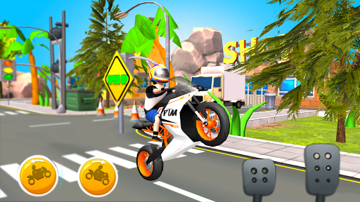 Cartoon Cycle Racing Game 3D screenshots 1