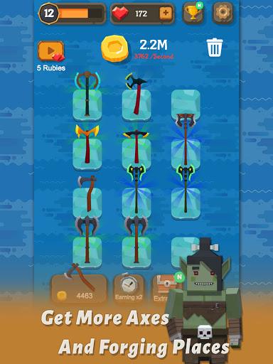 Merge Axe - Idle Blacksmith Master modavailable screenshots 9