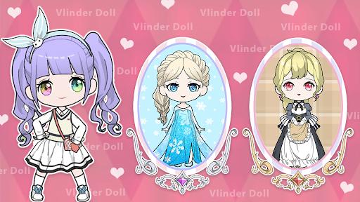 Vlinder Doll-Dress up Games, Avatar Creator  screenshots 3