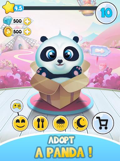 Pu - Cute giant panda bear, virtual pet care game 3.1 screenshots 13