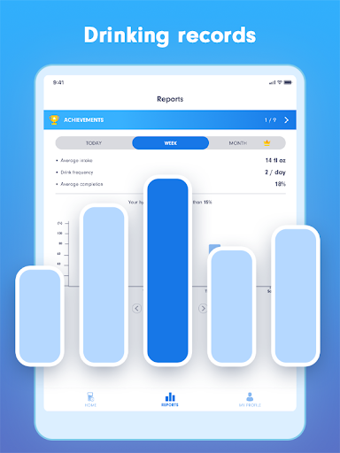 WaterBy: Water Drink Tracker Reminder & Alarm 1.7.2 Screenshots 9