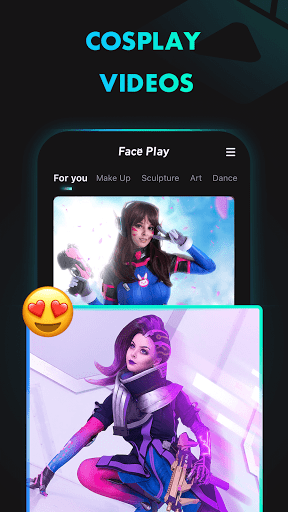 Faceplay Cosplay Video Maker