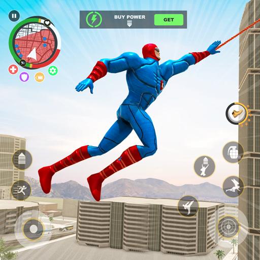 Spider lano hrdina hra